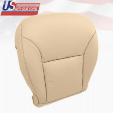 Fits 2002 to 2006 Lexus ES 300 ES330 Driver Side Bottom Leather Seat Cover Tan