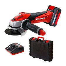 Einhell 18 Li Kit Power X Change 18v Cordless Angle Grinder With Storage Case