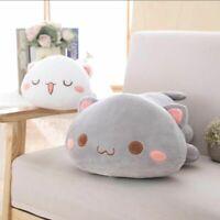 Cat Plush Toy Pillow Stuffed Doll Animal Kawaii Cartoon Cushion Home Decor Gift
