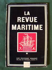 LA REVUE MARITIME no 173 - janvier 1961 - Patagonie, methaniers, peche Sénégal