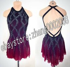 Ice Figure Skating Dress /Rhythmic Gymnastics Costume/Twirling Tap Dance Leotard