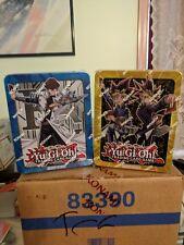 YUGIOH! 2017 Mega Tin (one case) 6x Yugioh 6x Kaiba