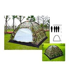 3&4 Person Outdoor Festival Camping Hiking Folding Tent Waterproof Camouflage uk