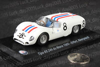 Maserati Tipo 65 24th du Mans 1965 #8 Siffert Neerpasch 1/43 Diecast Model