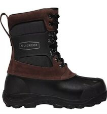 """Lacrosse Outpost II 11"""" Work Boot Hunting Ice Fishing 600801 Brown- Size 11, New"""