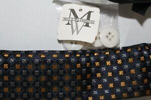 NWT MEN'S WEARHOUSE Adjust Made in England Suspenders Braces