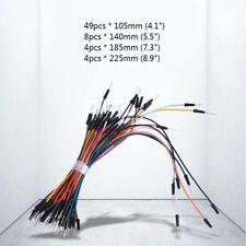 65pcs Flexible Jumper Cable Breadboard Solderless Test Wire Kit For Raspberry Pi