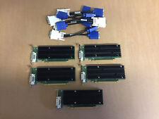 5 x NVIDIA Quadro NVS 290 Niedrige Bauform 256MB 2x VGA PCIe X16 mit Y - Kabel