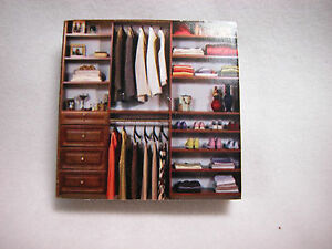 "Dollhouse Miniature 1/4"" Scale 1:48  Book Shelf  Made of  Plywood #Z297C"