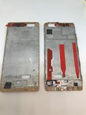 Marco central Medio LCD Frame Marco Medio Carcasa Bezel Oro HUAWEI ASCEND P9