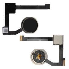 Para Apple iPad Air 2 Home Botón Key + Flex Cable Assembly Negro A1566 A1567