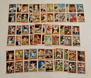 1991 Donruss Cracker Jack Complete Series 1 & 2 Set Lot Uncut 4 Cards Per Panel