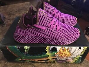 """Adidas X Deerupt Dragonball Z """"Son Gohan""""size 8 Deadstock Limited Edition"""