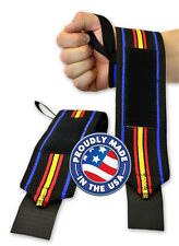Titan THP Wrist Wraps IPF Powerlifting in 12in, 20in, 24in, 30in or 36in sizes