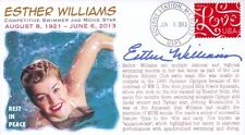 COVERSCAPE computer designed swimmer/actress Esther Williams memorial cover