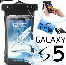 Custodia subacquea impermeabile Galaxy S5,S4,S3.Cover mare,sub + laccio collo