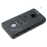 wireless hidden camera eavesdropping Anti-spy Detector a part of CCTV system