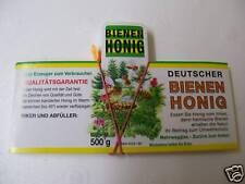 "100 Etiketten""Waldhonig""naßklebend,Honig Imkerei, Imker,Aufkleber,bee,Bienen"