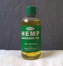 Hemp Seed Oil Massage Oil – 200ml – All Natural