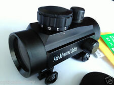 Ade 1X 35 Red Dot Sight Rifle Scope Airsoft Airgun with 20mm Picatinny Mount