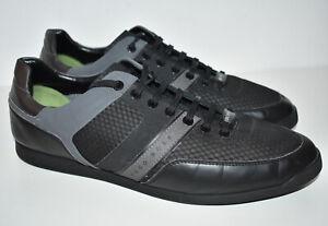 Hugo Boss Maze Low Black Mens Trainers Shoes 50379355 UK 11 EU 45 US 12 VGC