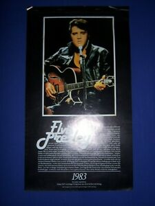 Jahreskalender 1983 - Elvis Presley