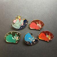 WDW Cast Lanyard Series - Fairies - 5 Pin Set Disney Pin 26501