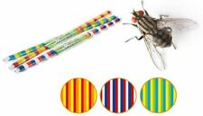 New 2pk Buzz Strip Wipe Clean Door Blind Fly Screen Insect Curtain 90 X 200cm