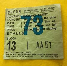 MOTORHEAD TICKET STUB - 22 September 1986 - Hammersmith Odeon - Very Rare!