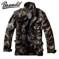 Brandit Herren Winter Jacke M65 Field Jacket Feldjacke Darkcamo M