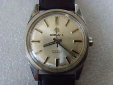 Vintage Swiss Rodania 17J Mechanical Manual Watch