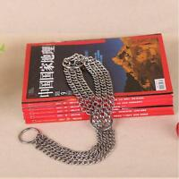 New Mental Collar Dog Choker Check Chain Training Stainless Steel 62cm