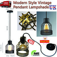 Vintage Retro Modern Industrial Rustic Sconce Ceiling Light Fitting BULB OPTINAL