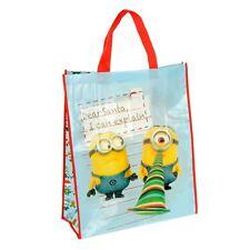 Giant Reusable Shopper Christmas Gift Bag - Minions Dear Santa I Can Explain