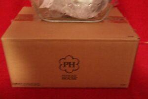 "L 3149 Princess House Fantasia Green Fresh Baker 6"" X 8"" Rectangular NIB"