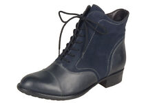 Ladies' Casual Ankle Boot Remonte R6479- 14 Blue Combination EU Size 36
