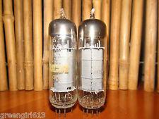 2 Vintage WESTINGHOUSE RCA 6BQ5 EL84  Stereo Tubes  Results =  55 53 #85627