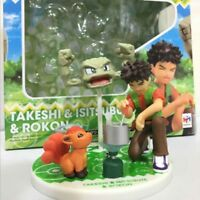 4'' Pokemon Pocket Monster Pikachu Brock & Vulpix & Geodude Action Figure toys