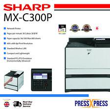 Laser Printer Sharp MX-C300P Colour Laser Printer 2 Year Warranty Next Day Deli