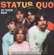 At Their Best by Status Quo (UK) (CD, Apr-2007, St. Clair)