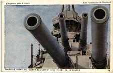 WW1 WWI Propaganda - L'Angleterre Prête à Frapper (14) - Marina Militare - PV967