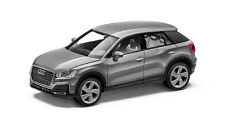 AUDI Q2 modèle de voiture 1:87 HERPA argent Florett argent - 5011602621