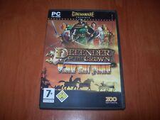 DEFENDER OF THE CROWN: HEROES LIVE FOREVER PC (ED. ESPAÑOLA MUY BUEN ESTADO)