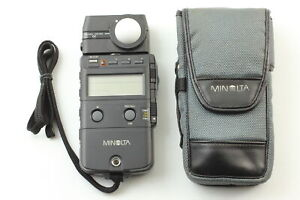 MINOLTA Auto Flash Meter IV Light Meter From JAPAN [Almost MINT with Case]