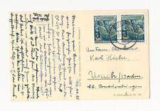Echte ungeprüfte Briefmarken der DDR (1949-1990) mit Mehrfachfrankatur