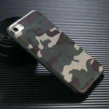 Shockproof Camouflage Pattern Slim Soft Back Case Cover For iPhone X 6s 7 8 Plus
