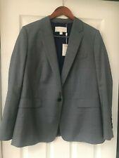 Hugo Boss Janufa1 Womens Wool Blend Suit Separate One-Button Blazer Size:10