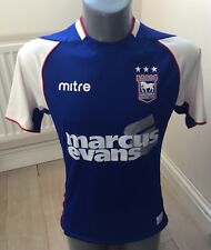 Authentic Ipswich Town 2013-14 Mens Small Home Football Shirt EXC COND