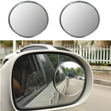 3'' Car Blind Spot Rear View Mirrors Rearview Wide Angle Round Convex Mirror 2x