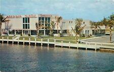 Fort Lauderdale FL~Creighton's Restaurant~Gift Shop~Waterfront~Neon Signs~1960s